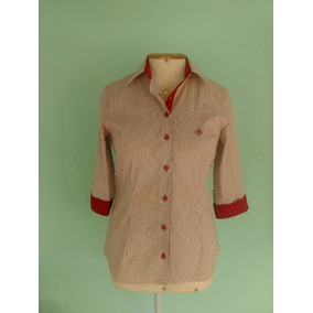 f5c1a27ec3 Camisa Dudalina Feminina Listrada - Calçados