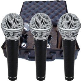 Microfono Samson R21 X3 Set+estuche+pipetas / Open 411 Ea