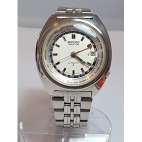 c611f608c58 Relógio Seiko Gmt World Time Hora Mundial Cálibre 6117 Revi. R  1.250