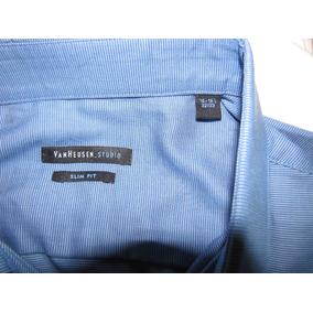 Camisa Van Heusen Studio Slim Fit Social Original 16 32/33