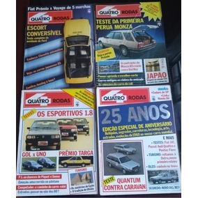 Coleção Revista 4 Rodas Década De 80