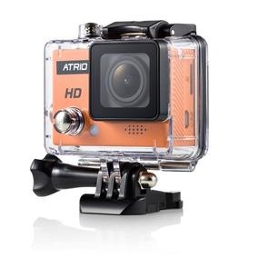 Câmera Estilo Go Pro Atrio Dc 186 + Acessórios + Cartão 16gb