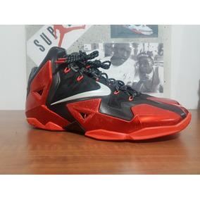 Tênis Nike Lebron 11 Miami Heat - Size 13 - Usado