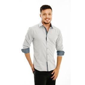 Camisa Social Masculina Varias Cores Frete Gratis Em 3 Peças