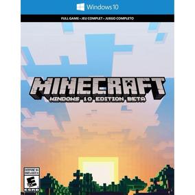 Minecraft Pc - Windows 10 Edition Original Cod 25 Digitos