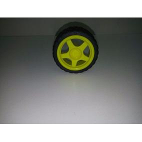 18 Un Roda 68mm Para Chassi Robo Robótica Arduino