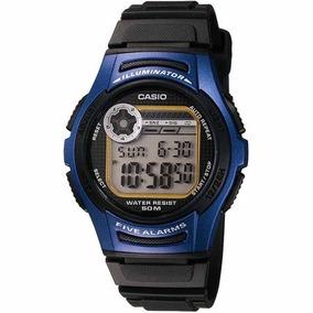 Relogio Casio W 213 Preto - Joias e Relógios no Mercado Livre Brasil 5d78c84f8d