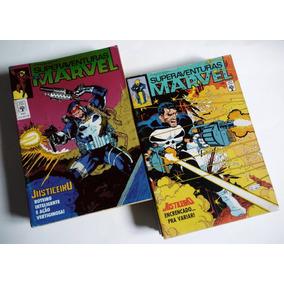 Superaventuras Marvel/justiceiro - Edt. Abril- 14 Edições