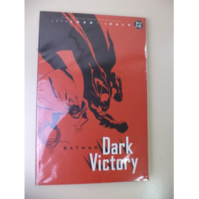 Importado Hq Dc Batman Série Dark Victory 3 Vol. Em Inglês