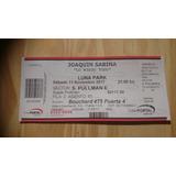 Joaquin Sabina Super Pullman $2500