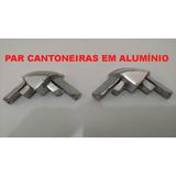 Cantoneira Em Alumínio Capota Maritima - Kit 2 Peças