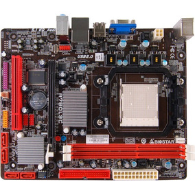 Tarjeta Madre Biostar A780l3c Socket Am3 Ddr3 Usada D