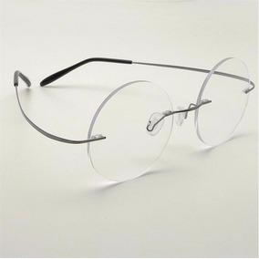 949417e9f Óculos Redondo Titanium - Óculos no Mercado Livre Brasil