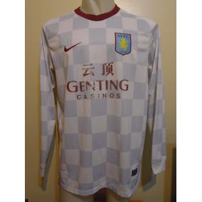 Camiseta Aston Villa Inglaterra 2011 2012 Bent #9 Selección