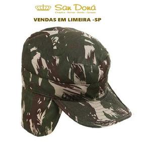 Gorro Militar Com Folho Exército Original 53 A 62 San Dona 9705fe41201