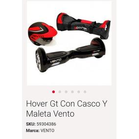 Hover Gt Vento Con Casco Y Funda Transportadora