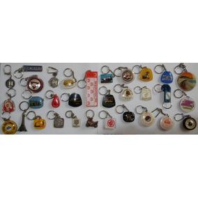 Chaveiro Lote 30 Chaveiros Antigos Coleção Vários Modelos K1