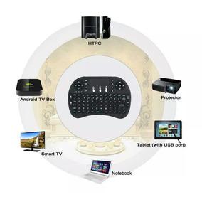 Mini Teclado Com Tochpad 2.4 Ghz Wifi