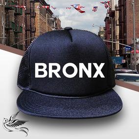 2723c7bae9cc0 Boné Bronx Aba Reta Todo Preto Trucker Frete Grátis · R  65 99