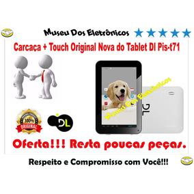 Carcaça + Tela Touch Original Nova Do Tablet Dl Pis-t71.