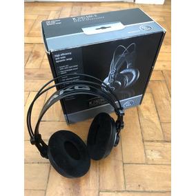 Fone De Ouvido Akg Headphone Profissional Studio K 240 Mkii