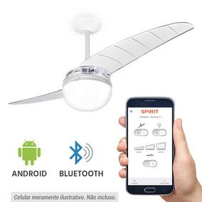 Ventilador Spirit 202 Cristal Bluetooth C. Aplicativo - 220v