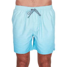 Short De Baño Billabong Sergio Layback Aqua Fade Hombre