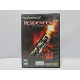 Resident Evil: Outbreak - Ps2 ¡fisico-usado!