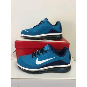 805f4c1ef0796 Nike Air Max Mujer - Zapatillas Nike de Mujer Celeste en Mercado ...
