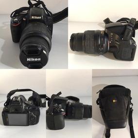 Nikon D5100 Usada Vários Acessórios