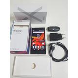 Sony Xperia Xz, Tela 5.2, Andróid 8.0, 32gb, 23mp - Preto