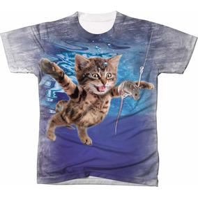 eaf3c55fdc Camisetas De Mergulho Pesca Sub - Camisetas e Blusas no Mercado ...