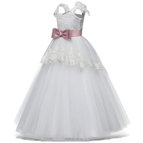 Vestido Niña Ceremonia Elegante, Paje, Primera Comunion
