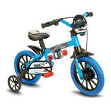 Bicicleta Menino Criança De 3 A 5 Anos Veloz Aro 12 Nathor