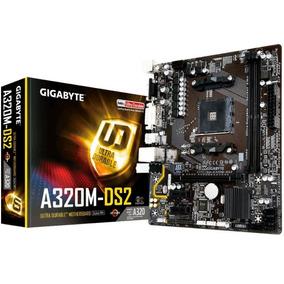 Placa-mãe Gigabyte P/ Am4 Chipset Amd Ga-a320m-ds2