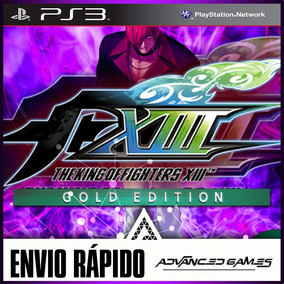The King Of Fighters Kof 13 Xiii Gold - Jogos Ps3 Psn Rapido