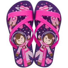 ab1816bed Chinelo Infantil Ipanema Rosa E Roxo Lilás 31/32 Outlet - Sapatos no ...