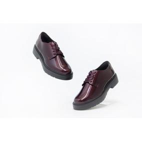 c656e1f19529d Zapatos Bonitos Dama Flexi Modelo 32901 Vino 100% Originales