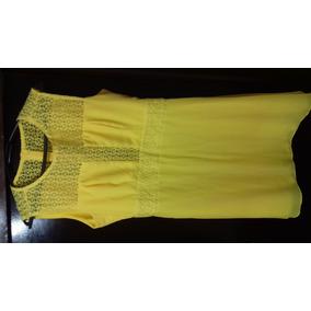 Vestido Amarelo Curto