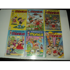 Kit Com 6 Gibis Da Mônica-gibis Usados-mauricio Sousa-kit 4