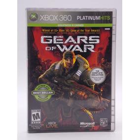 Gears Of War 1 Xbox 360 E Xbox One Original Mídia Física