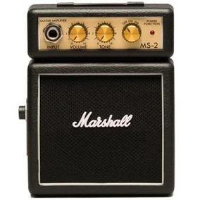 Mini Amplificador Marshall Ms-2-e Combo Para Guitarra