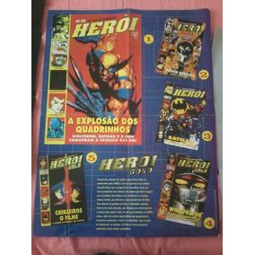 Pôster Revista Herói Gold (1995) - Melhores Capas