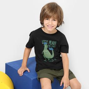 Camiseta Infantil Zeep! Dino Let s Play Masculina por Grupo NLW 7b862617d8b9f