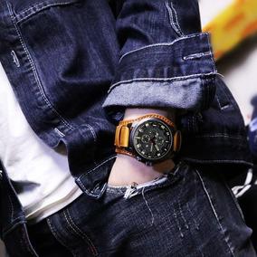 2 Relógio Barato Bracelete Em Couro Masculino 8225 Curren