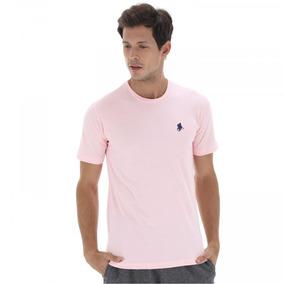 Camiseta Polo Us Gola Careca 606tsgcb - Rosa Cla azul Esc 547772da86c91