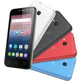 Smartphone Alcatel Pixi4 Colors 4034e Preto, Mais Três Capas