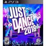 Just Dance 2018 Ps3 Original Entrega Inmediata