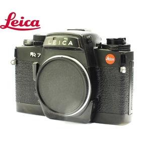 Câmera Leica R7 Black Reflex 35mm - Usada - Corpo