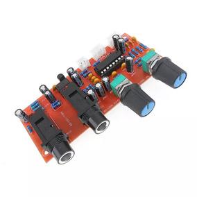 Pré Amplificador Pró/automotivo/mic/eco/karaokê.12v.dc(2pçs)